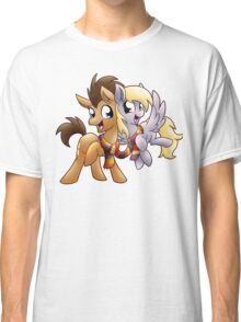 Derpy & Doctor Whooves Classic T-Shirt