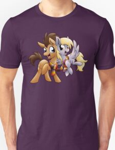 Derpy & Doctor Whooves Unisex T-Shirt