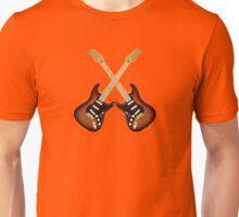 Fender Strat Sunburst Guitar Unisex T-Shirt