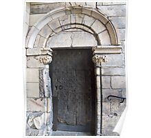 Holyrood Palace Door (As You Enter The Abbey) Poster