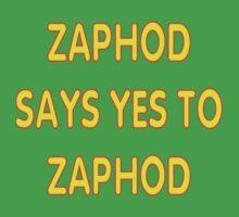 Zaphod says YES to Zaphod One Piece - Short Sleeve