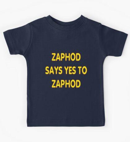 Zaphod says YES to Zaphod Kids Tee