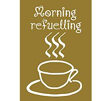 Morning Refuelling Photographic Print