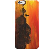 Smooth Sailing at Sunset iPhone Case iPhone Case/Skin