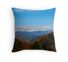 Fall in the Blue Ridge Mountains Throw Pillow