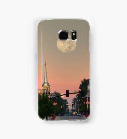 Moon over McMinnville Samsung Galaxy Case/Skin