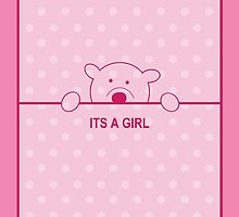 its a girl...  by Gregoria  Gregoriou Crowe