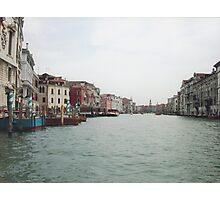 VENEZIA e il suo Canal ........Grande...ITALY - EUROPA - 4000 VISUALIZZAZ.GIUGNO 2013-fEATURED in italy 500+- VETRINA RB EXPLORA -.             Photographic Print