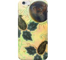 iPhone Case of collage painting... Paisley came from Pluto.. iPhone Case/Skin