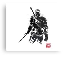 The Witcher sumi-e V2 Metal Print