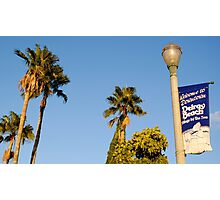 Welcome To Downtown Delray Beach Photographic Print