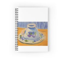 Yellow afternoon tea Spiral Notebook