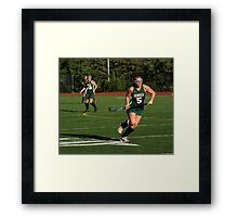 100511 305 0 field hockey Framed Print