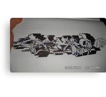 Sick wildstyle Recon.. Canvas Print