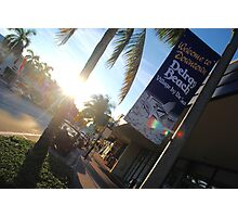 Welcome To Downtown Delray Beach II Photographic Print