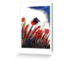 Just your normal day,but never for me!!  watercolor Greeting Card