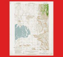 USGS Topo Map Oregon Crane 282381 1960 62500 One Piece - Short Sleeve