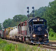 Pan Am Railways by Matthew Modica
