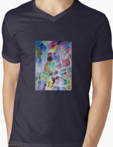 Puzzled Mens V-Neck T-Shirt