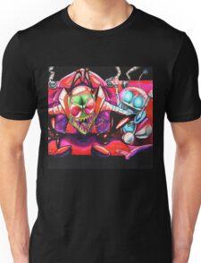!!!ZIM!!! and Gir in the Voot Cruiser Unisex T-Shirt