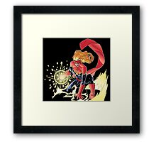 """""""I will make it if I have to crawl""""- no background Framed Print"""