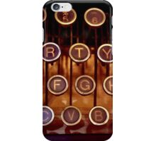 Typewriter Keys - iPhone iPhone Case/Skin