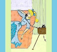 Retro Girl on the Phone by Rosalie Scanlon