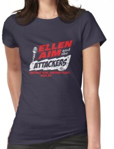 Ellen Aim & the Attackers Tour 84 Womens Fitted T-Shirt