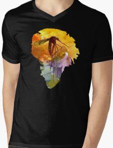 Isla Nublar Mens V-Neck T-Shirt