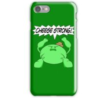 Sage Der-Bee Cheese Strong! iPhone Case/Skin
