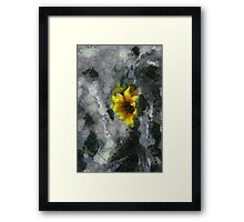 Far from reality Framed Print