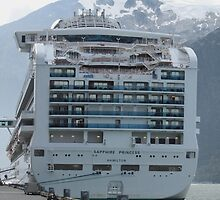 Anchored in Skagway, Alaska by DonnaMoore