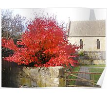 Barracks, Ross (Autumn Maple) Poster