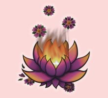 Flaming Lotus Kids Clothes