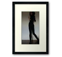 Bitch Framed Print
