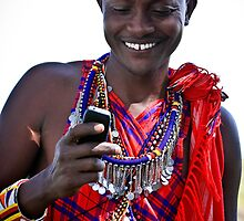 Mobile Maasai  by Jill Fisher