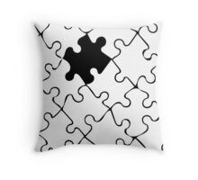 Jigsaw Throw Pillow