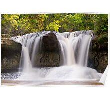 Indiana's Upper Cataract Falls Poster