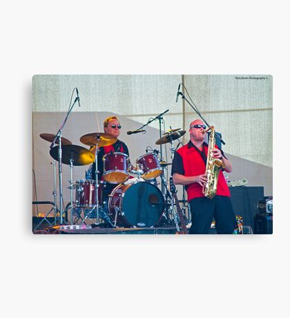 Johnny Limbo And The Lugnuts Canvas Print