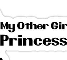 My other girlfriend is Princess Peach - Nintendo Sticker