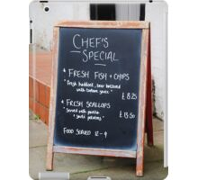 Pub menu sign, Rye iPad Case/Skin