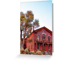 Hotel Meade 2 (Bannack, Montana, USA) Greeting Card
