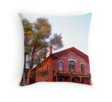 Hotel Meade 2 (Bannack, Montana, USA) Throw Pillow