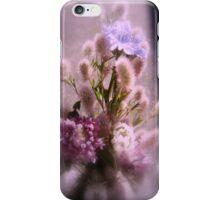 wildflower bouquet, pink tint iPhone Case/Skin
