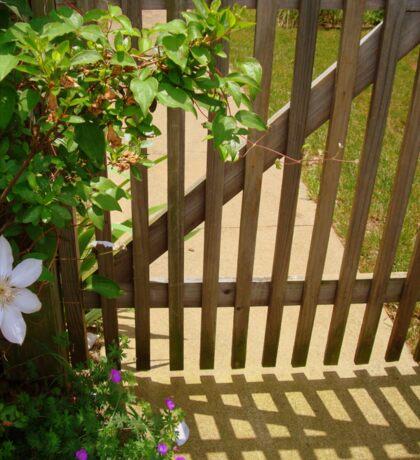 Garden Gate - SMALLTOWN USA series ^ Sticker