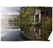 A Grasmere Boathouse Poster