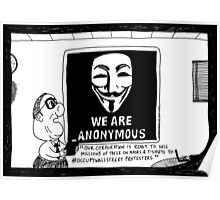 Anonymous Business Poster