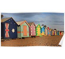 Brighton beach boxes Poster