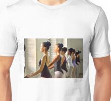 At the Barre Unisex T-Shirt