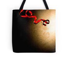 Love Ribbon Tote Bag